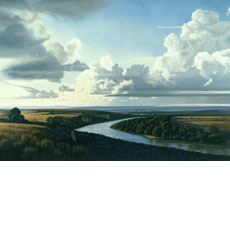 Broad Landscape with a River